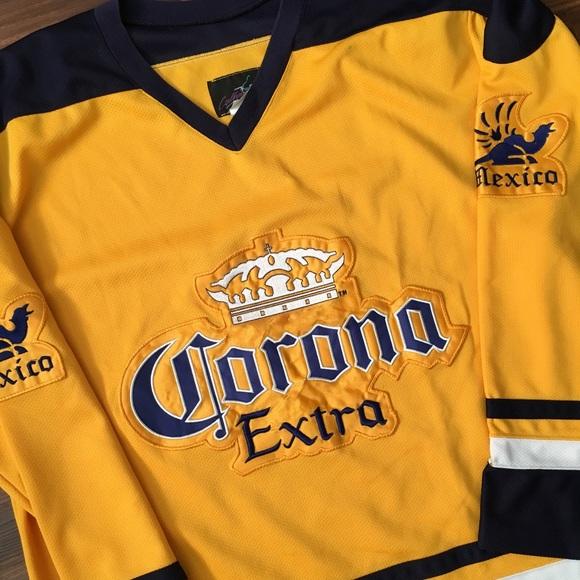 Vintage Corona Hockey Jersey. M 5b4bca87bb7615518c49fc27 3e0f61751ee